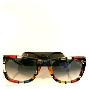 Ray Ban Color Paned Glasses